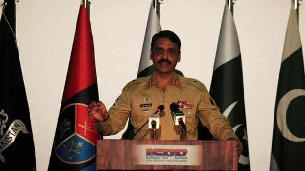 """General Headquarters in Rawalpindi, chief military spokesman Maj Gen Asif Ghafoor repeated his offer to facilitate Indian journalists if they wished to visit Balakot to """"see the truth"""".(Reuters File Photo)"""