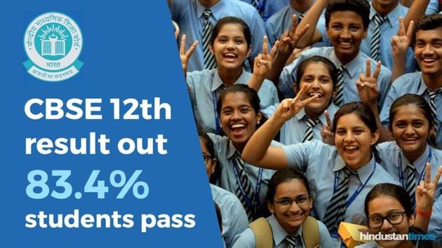 CBSE Board 12th Result 2019 Live Updates(HT)