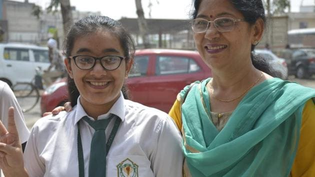 CBSE Board 12th topper Hansika Shukla(HT)