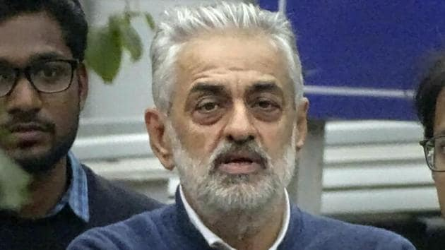 A Delhi court on Wednesday took cognisance of the charges filed against lobbyist Deepak Talwar, dismissed his bail application, and issued a non-bailable warrant against his son Aditya Talwar(PTI Photo)