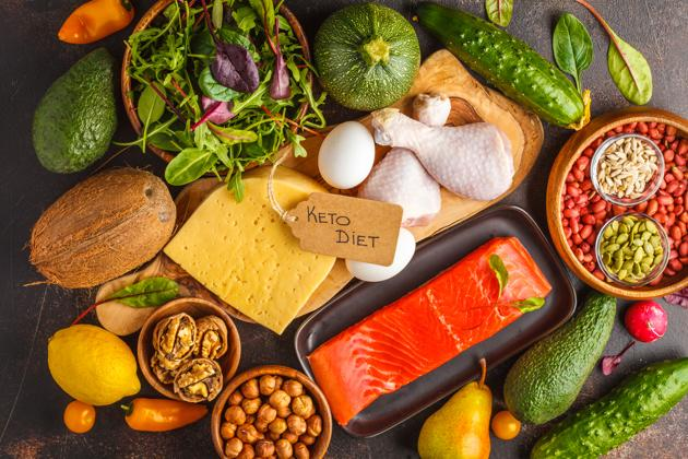 The ketogenic or keto diet is based on a strict control of carbohydrates, high on fat and adequate protein(Shutterstock)