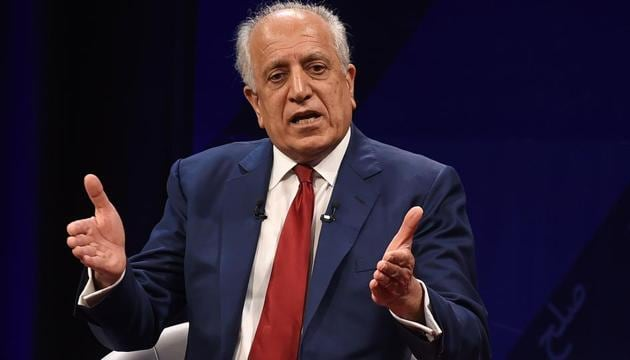 US special representative for Afghan peace and reconciliation, Zalmay Khalilzad, has so far not seen India as central to his efforts(AFP)