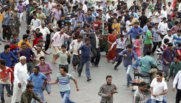 The government's odds of extinguishing peaceful collective action in the streets during an Internet blackout are no better than random chance. The Patidar agitation in Gujarat and the Jat reservation protests in Haryana are a few examples(PTI)