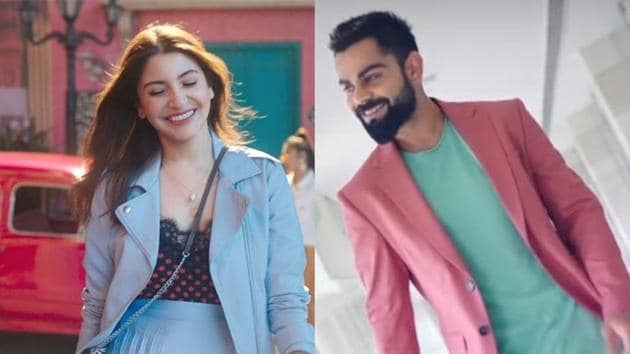Anushka Sharma, Virat Kohli feature in a new commercial.
