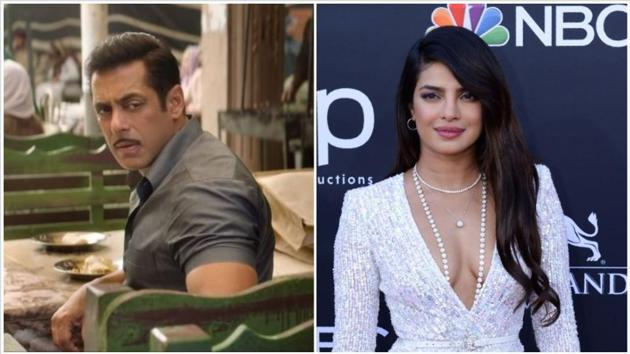 Salman Khan has taken a dig at Priyanka Chopra again after she quit Bharat last year.