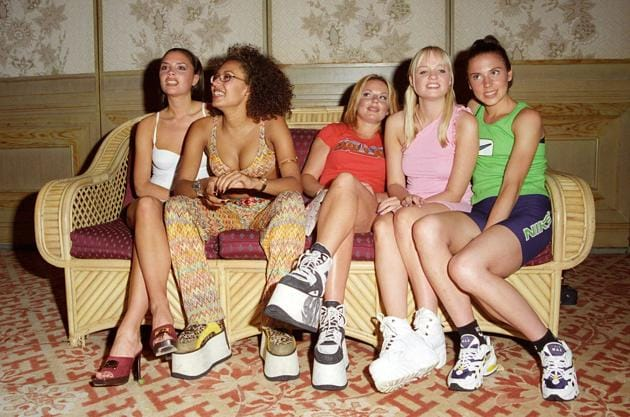 Remember the platform sneaker? The Spice Girls laced them up in the 1990s, and wannabe girls around the world tripped all over themselves to follow suit. Some actually sustained serious ankle injuries, and now the trend is making a comeback.