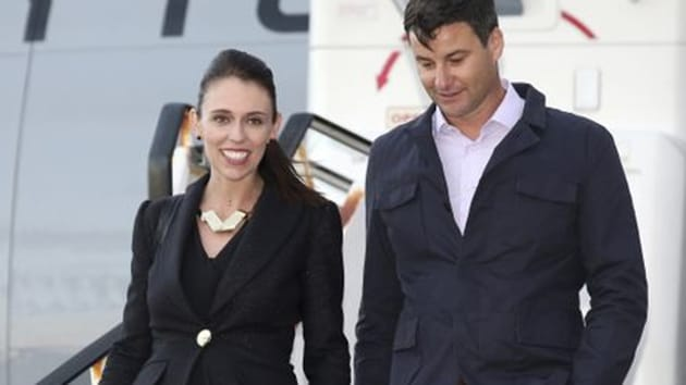 Ardern said the proposal was made when the couple, plus her diplomatic protection security, some locals, and a dog who stole her chocolates, were at a beautiful little lookout on Mokotahi hill on the Mahia peninsula in Hawke's Bay, New Zealand.(AP FILE)
