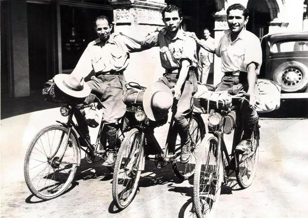 7 Parsis cycled around the world a century ago. Check out photos from their tra...