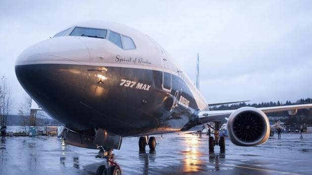 FILE PHOTO: A Boeing 737 MAX 8 sits outside the hangar during a media tour of the Boeing 737 MAX at the Boeing plant in Renton, Washington December 8, 2015(REUTERS)