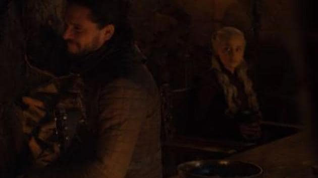 Shazam! The coffee cup has been digitally removed from Game of Thrones' latest episode.