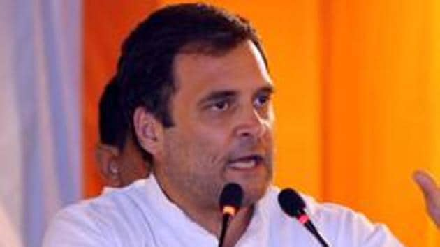 Arvind Kejriwal did a U-turn on tie-up with Congress: Rahul Gandhi(ANI)