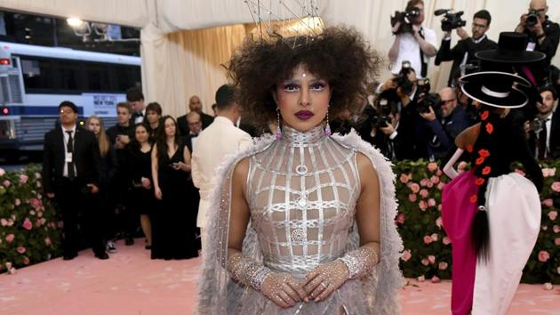 Priyanka Chopra attends The Metropolitan Museum of Art's Costume Institute benefit gala in Dior(Charles Sykes/Invision/AP)
