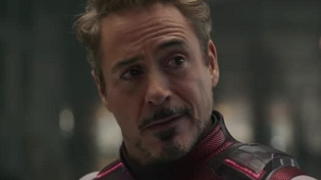 Robert Downey Jr in a still from Avengers: Endgame.