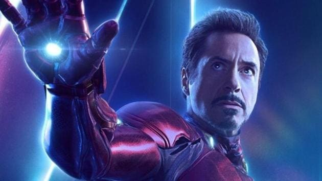 Robert Downey Jr as Tony Stark/Iron Man in a still from Avengers: Endgame.