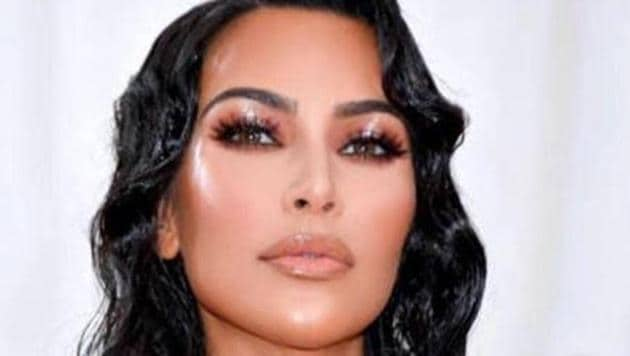 Kim Kardashian West made an appearance at the big event in a beaded latex Thierry Mugler dress to celebrate the opening of the Metropolitan Museum of Art's Costume Institute's new theatrical exhibition, Camp: Notes on Fashion.(Instagram/Kim Kardashian)