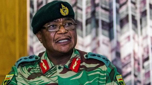File photo of Zimbabwe's vice president Constantino Chiwenga(AFP File)