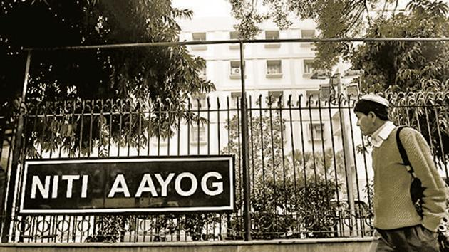 Federal think tank NITI Aayog has told the Election Commission that allegations levelled by the Opposition parties that it helped provide inputs to the Prime Minister's Office in advance about the places he was set to campaign are unfounded.(HT File)