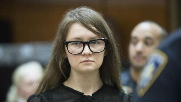 The 28-year-old, who had played with her own tabloid image during the trial by wearing stylish dresses to court, looked despondent as the verdict was announced.(AP image)