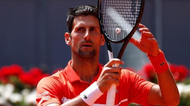 File image of Serbian Tennis star Novak Djokovic.(REUTERS)