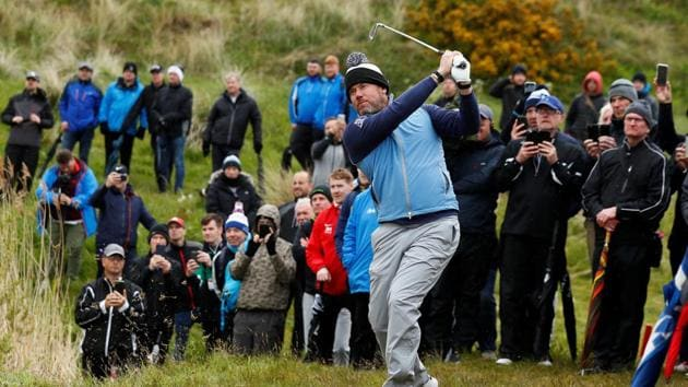 Golf - European Tour - British Masters - Hillside Golf Club, Southport, Britain - May 9, 2019 England's Lee Westwood during the first round(Action Images via Reuters)