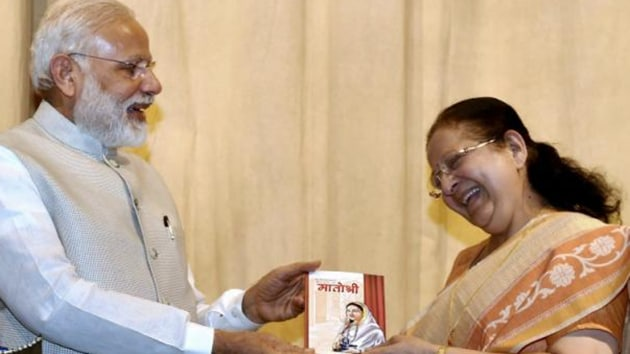 'Tai' (as Mahajan is popularly known in the constituency) has carried out her duties in a skilful and controlled way. It is because of this, she has left an indelible impression on the minds of people, said Modi(PTI FILE)