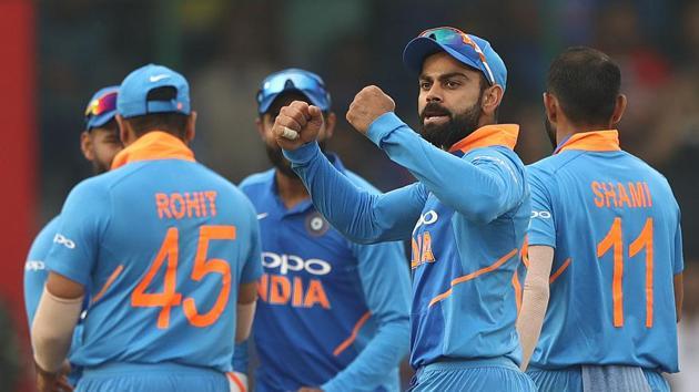 File image of Virat Kohli and Indian team(Getty Images)