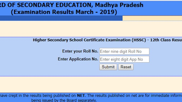 MP Board 12th result 2019 declared LIVE updates(mpresults.nic.in)