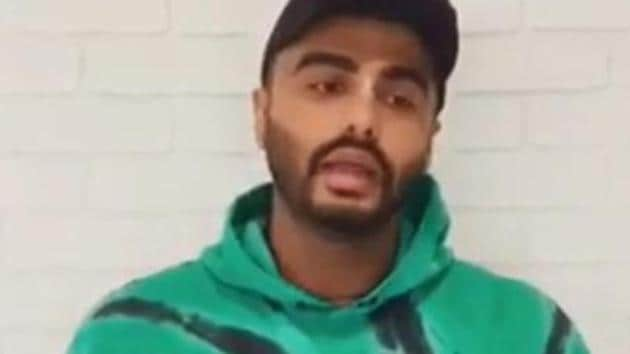 Arjun Kapoor urges people to salute unsung heroes who actually protect the