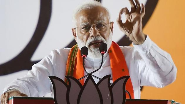 """""""I thought that there are clouds, it's raining, so there is a benefit that we can escape the radar... the cloud can benefit us too."""" Prime Minister Narendra Modi, in a recent interview, revealed these backroom details of the military strikes against Pakistan(AFP)"""
