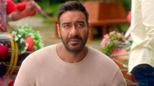 De De Pyaar De movie review: Ajay Devgn plays a man caught up between his ex wife and new lover.