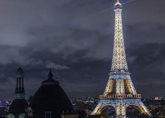 Happy 130th birthday, Eiffel Tower(toureiffelofficielle/Instagram)
