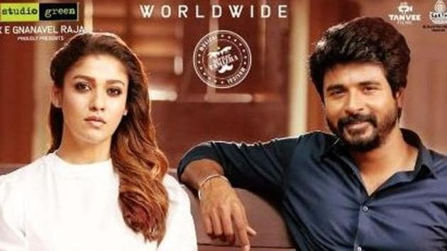 Mr Local stars Sivakarthikeyan and Nayanthara as the lead pair.