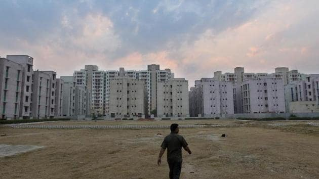 Of the 675 slums in Delhi, 499 are on central government land, including DDA-owned land.(Amal KS/HT PHOTO)