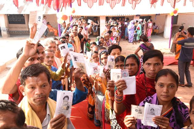 We are witnessing one of the largest elections of mankind, seven phases over more than a month, and 900 million people voting.(Arabinda Mahapatra / Hindustan Times/Representative Image)