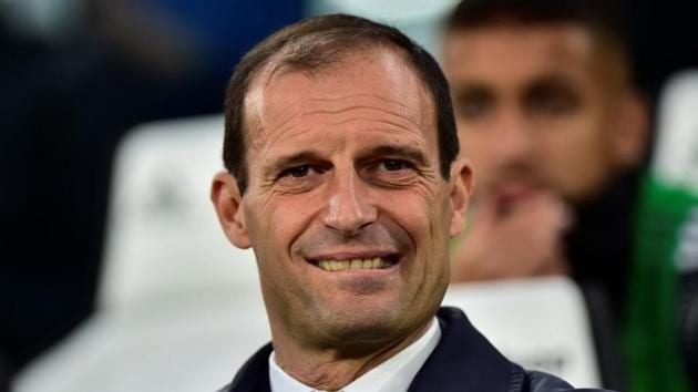 File image of Massimiliano Allegri.(REUTERS)