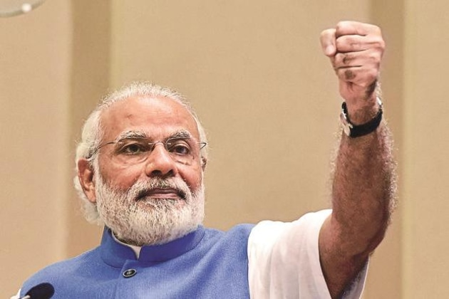 Prime Minister Modi is also in the fray in the last lap of the election in the temple town of Varanasi.(HT Photo)