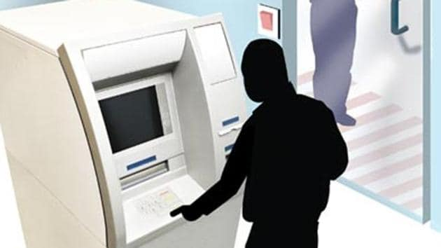 After Shukla would spray chemicals on the closed circuit television cameras of the ATMs, Saini would install skimming machines, which save passwords when money is withdrawn(File Photo)