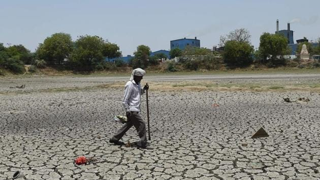 Gujarat state is experiencing acute water crisis due to last year's Monsoon rains.(AFP file photo)