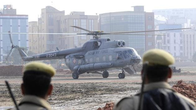 The preliminary inquiry into the accident has allegedly indicated several lapses leading to the tragic accident. For instance, the air traffic control called the helicopter back even as air engagement between Indian and Pakistani fighters intensified.(HT File Photo)
