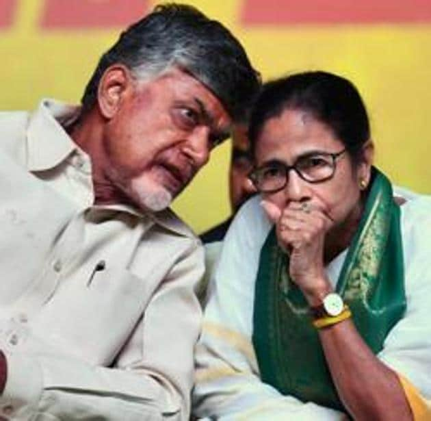 Chief Minister Mamata Banerjee and outgoing Chief Minister of Andhra Pradesh N Chandrababu Naidu's decision to skip Prime Minister Narendra Modi's oath-taking ceremony(ANI File Photo)