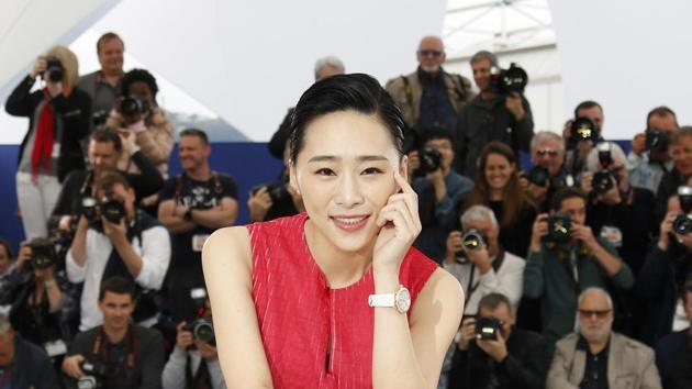 Photocall for the film Nina Wu (Zhuo ren mi mi) in competition for the category Un Certain Regard - Cannes, France, May 21, 2019. Cast member Wu Ke-Xi poses.(REUTERS)