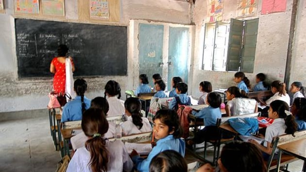 The Congress government is considering reopening those schools, said education minister Govind Singh Dotasra on Wednesday.(HT Photo)