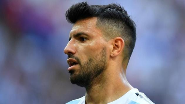 File image of Argentine footballer Sergio Aguero.(REUTERS)