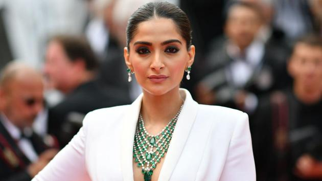 Sonam Kapoor stands out in a white tuxedo with a twist