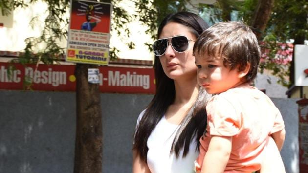 Kareena Kapoor says she is paranoid about what her son Taimur eats.(IANS)