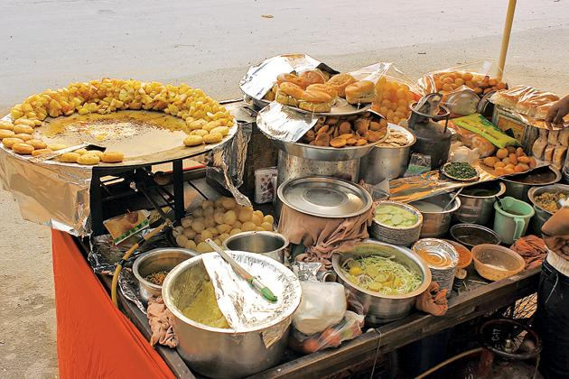 You do get chaat in South Indian cities, but it's always treated like an import(iStock)