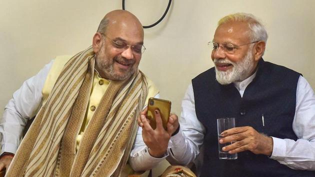 Lok Sabha election results: PM Narendra Modi-led NDA is heading for a big win(PTI photo)