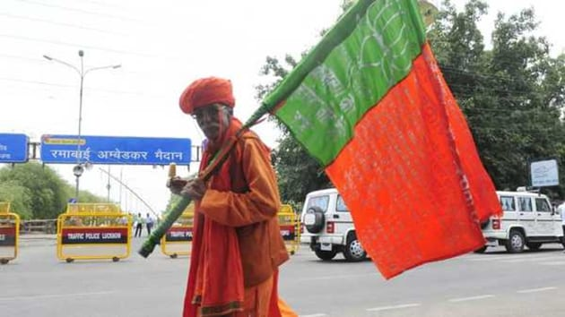 The BJP's victory margin increased in 22 seats and in Indore and Hoshangabad, the margin was more than 500,000.(HT Photo)