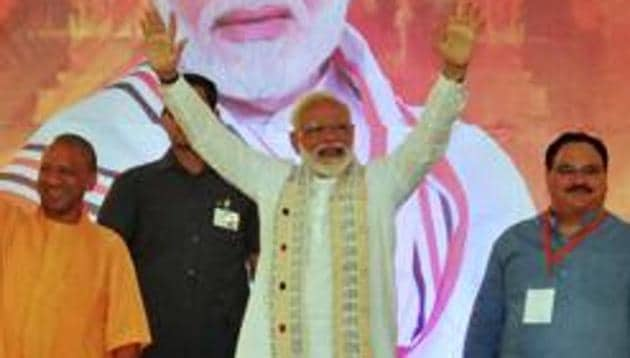 One of the social media users borrowed the introductory style of rulers in the show for Modi as the one true leader in Westerosi jargon.(ANI)