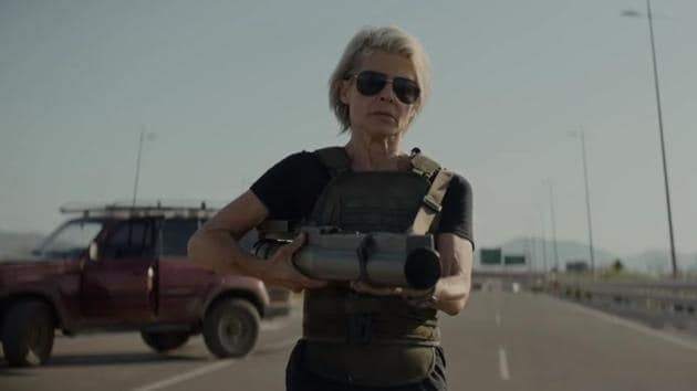 Linda Hamilton returns to play Sarah Connor in Terminator: Dark Fate